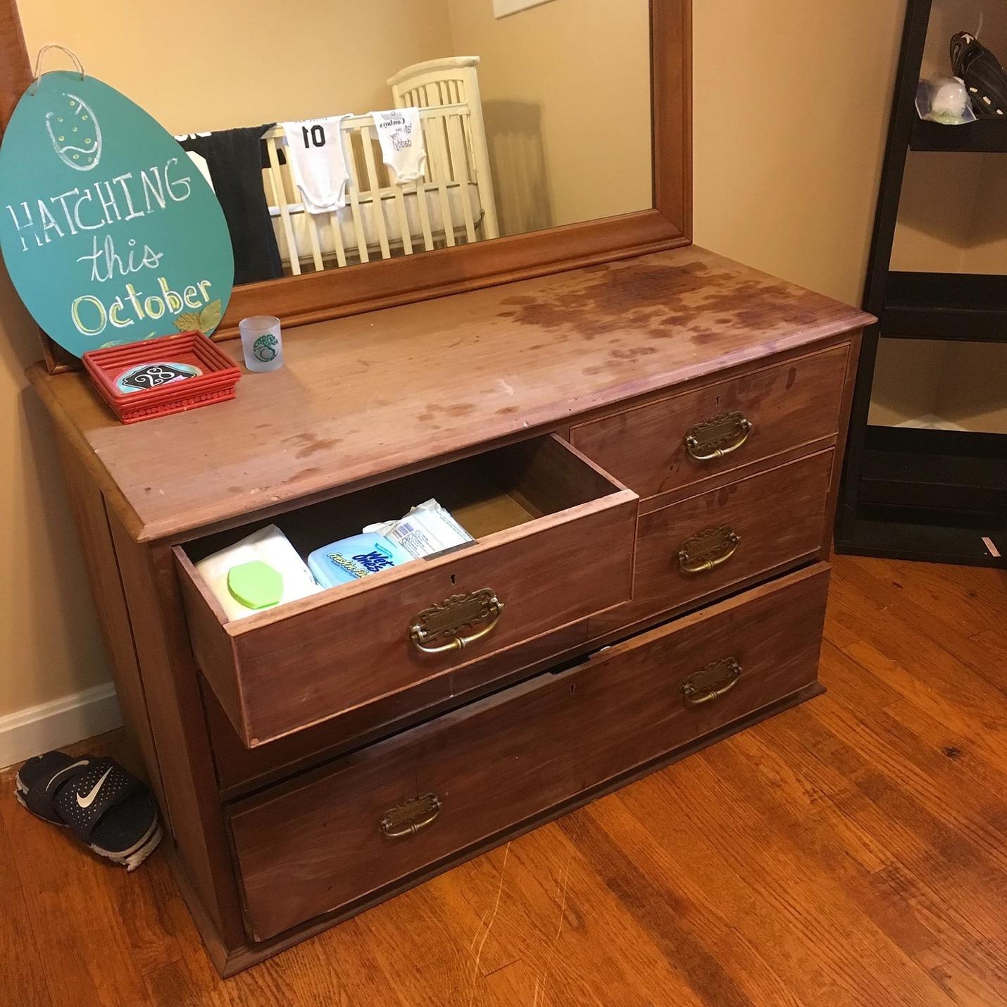 Thrift Store Furniture DIY Makeover